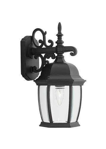 Designers Fountain 2421-BK Tiverton 8 Inch Wall Lantern by Designers Fountain