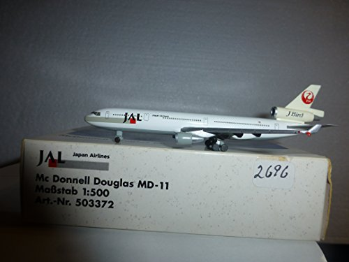 AIRCRAFT MODEL 2696 JAPAN AIRLINES MD-11