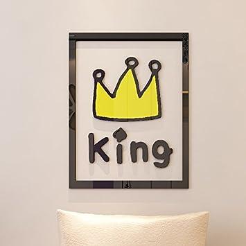 SecondStep Royal Crown Kombiniert Eine Stereoskopische Hintergrund Wand  Zweite Gramm Dint Stil 3D Kinderzimmer, Liste