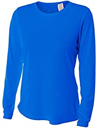 Women's UPF 30+ Performance Long Sleeve T-shirt with Sun Protection
