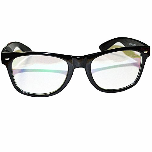 computer glasses anti glare anti reflective coating black