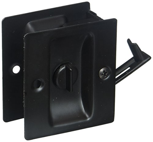 Ultra Hardware Lawn & Garden 49607 Privacy Pocket Door Lock Finish: Oil Rubbed Bronze (Oil Hardware Ultra)