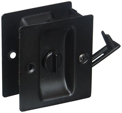 Ultra Hardware Lawn & Garden 49607 Privacy Pocket Door Lock Finish: Oil Rubbed Bronze (Ultra Oil Hardware)