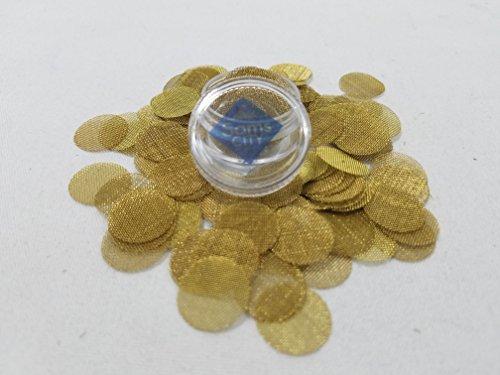 SAMSCITY-Quality-Brass-screens-75x-count-58-inch-625-in-diameter-W-FREE-Jar