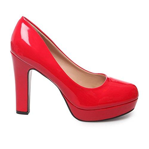 Escarpins Vernis Modeuse La Rojo Mujer YAxqg5Twn4