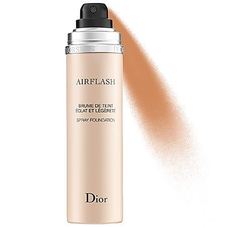 Christian Dior Dior-Skin Air-Flash Spray Foundation Makeup for Women, No. 400 Honey Beige, 2.3 Ounce (Spring Air Foundation)