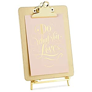 Hallmark Gold Clipboard Picture Frame with Easel