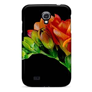 Durable Protector Case Cover With Freesia Hot Design For Galaxy S4