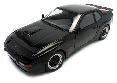 Autoart Diecast 1980 Porsche 924 Carrera GT Black 1:18