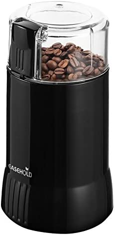 EASEHOLD 200W Electric Whole Coffee Grinder Bean and Spice Grindering with Steel