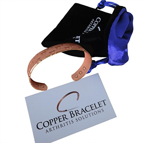 Mens Heavyweight Copper Bracelet Arthritis