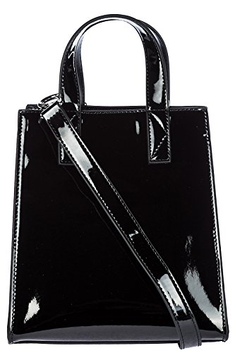Kenzo borsa donna a mano shopping nuova originale mini nero La Venta De La Más Barata 9pYZD
