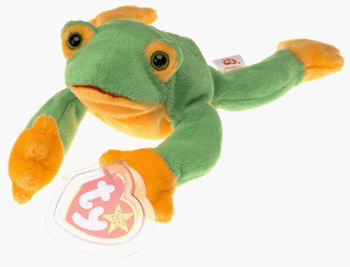 Ty Beanie Babies - Smoochy the Frog A Prince Or A Frog Adorable Soft Beanie Baby Great Gift For Your Kids Order  Now!   With E-book Gift@