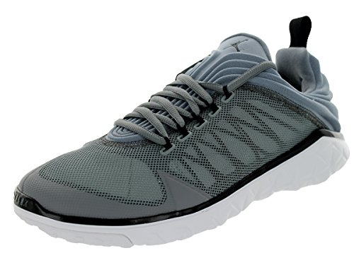Nike Jordan Mens Jordan Flight Flex Trainer Cool Grey/Black/Pr Pltnm/Wht Training Shoe 10.5 Men US