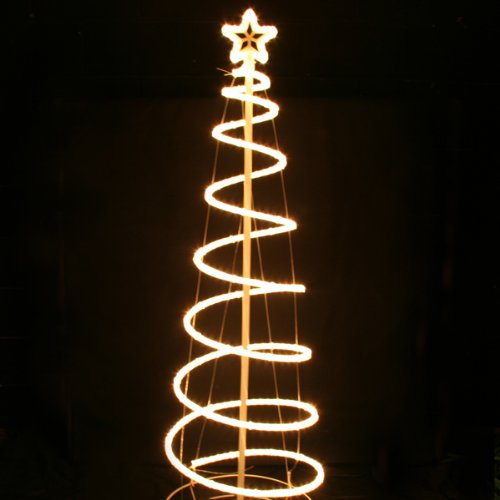 Spiral rope light tree clear 6ft amazon lighting spiral rope light tree clear 6ft aloadofball Images