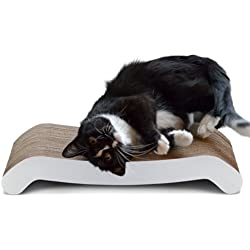 "PetFusion Cat Scratcher FLIP PAD. [Reversible, longer lasting, 19.7"" long]"
