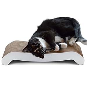 "PetFusion Cat Scratcher FLIP PAD. [Reversible, longer lasting, 19.7"" long]"