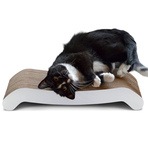 PetFusion Cat Scratcher FLIP PAD. [Reversible, longer lasting, 19.7