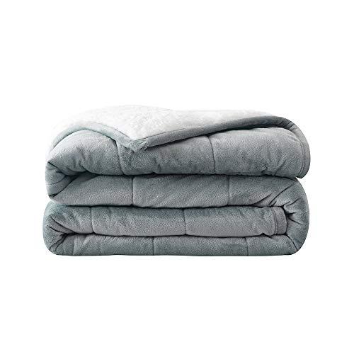 Syrinx Fleece Weighted Blanket 20lbs, 60