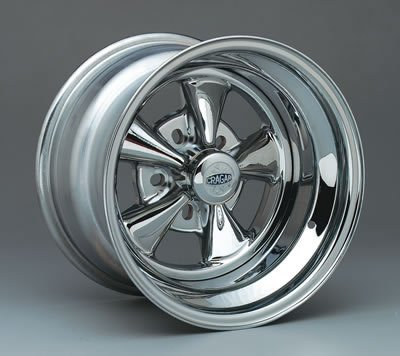 Cragar CRR-61715: Wheel, Super Sport, Steel, Chrome, 15 in. x 7 in., 5 x 4.5/4.75/5 in. Bolt Circle, 4.125 in. Backspace, Each