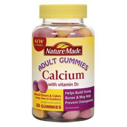 Nature Made Calcium Vitamin Gummies product image