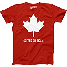 Youth Eh Team Canada T shirt Funny Canadian Shirts Kids Novelty T shirt Hilariou