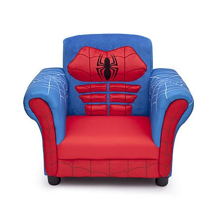 Kids, Children, Toddlers Upholstered Fabric Chair (Spider...
