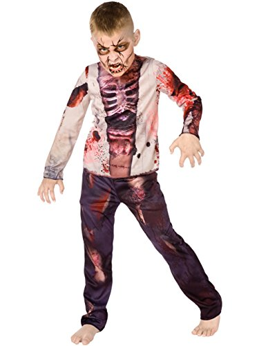 Big Boys' Boy Zombie Costume Large (12-14)