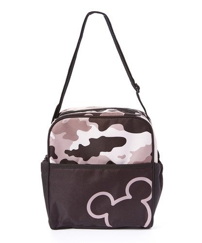 Disney Mickey Camo Mini Diaper Bag, Black/Gray , (Camo Baby Bottles)