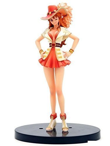 e1f181956d775 Image Unavailable. Image not available for. Color: Banpresto One Piece  6-Inch 15th Anniversary Edition Nami DXF Sculpture, The Grandline Lady