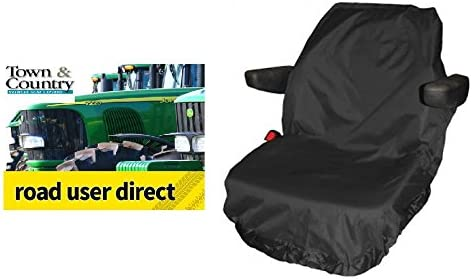 Town and Country Large Seat Cover Black