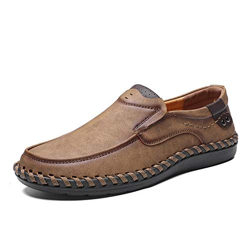 4cbae3cbfc994a coclour Men Casual Driving Shoes 2019 Leather Loafers Shoes Men Fashion  Handmade Soft Breathable Moccasins Flats Slip on Footwear Male: Amazon.ca:  Shoes & ...