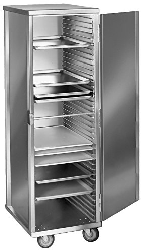 (Channel Manufacturing 53C 40 Pan Front Load Enclosed Non-Insulated Aluminum Bun / Sheet Pan Rack - Assembled )