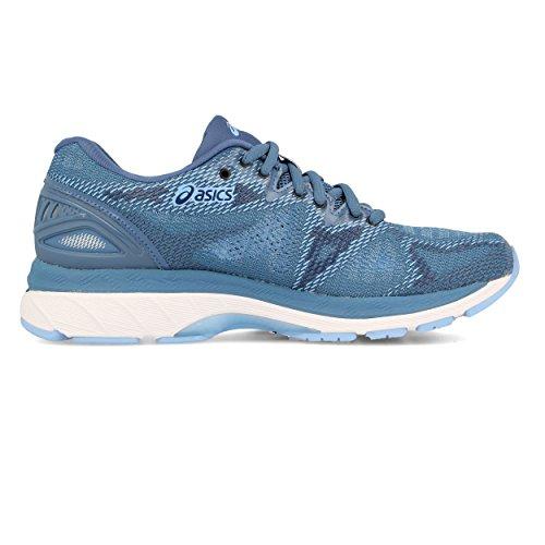 Asics Gel-Nimbus 20, Chaussures de Running Femme Bleu (Azure/White 401)