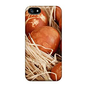 New Premium Flip Case Cover Decorated Easter Eggs2 Skin Case For Iphone 5/5s