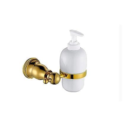 Accesorios de Baño Set | montado en Pared | Oro cobre toalla toalla papel higienico Soap