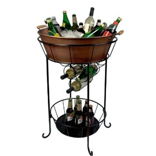 wine bucket with stand - 7