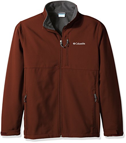 Columbia Men's Big & Tall Ascender Softshell Jacket, Deep Rust, 1X ()