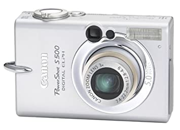 Review Canon PowerShot S500 5MP