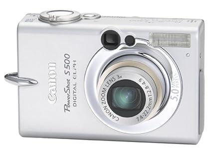 amazon com canon powershot s500 5mp digital elph with 3x optical rh amazon com Canon PowerShot ELPH 115 Is Canon PowerShot ELPH 115 Is