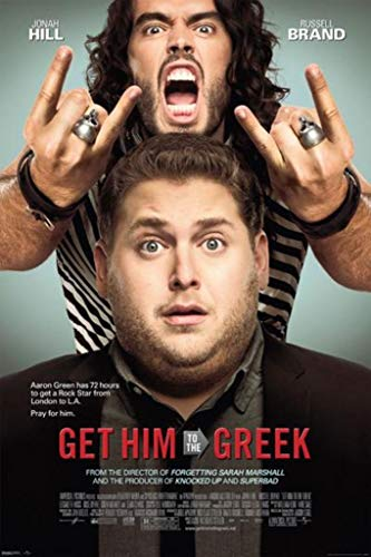 Pyramid America Get Him to The Greek-One Sheet, Movie Poster Print, 24 by 36-Inch (Get Him To The Greek Black Guy)