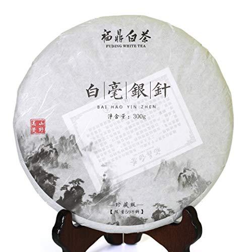 Fujian Silver Needle - 300g (10.58 oz) 2013 Year Supreme FuDing Organic Bai Hao Yin Zhen Silver Needle White Tea Cake