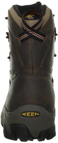 Keen Utility Mens Detroit 8 Steel Toe Work Boot,Black Olive/Brindle,10.5 D US