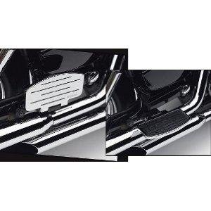 (Cobra Passenger Floorboards for 2008-2009 Honda Shadow Aero 750 and 2007-2009 Honda Shadow Spirit 750 - Chrome )