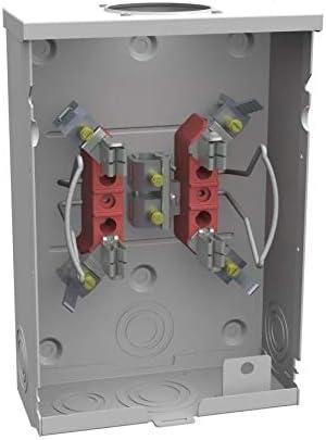 Milbank 125-Amp Ringless Single Phase (120/240) Meter Socket - - Amazon.comAmazon.com