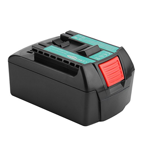 Creabest New 18V 5000mAh Li-ion Replacement Battery Compatible with Bosch BAT609 BAT622 BAT620 BAT609G BAT618 BAT618G BAT619 BAT619G BAT610G Bosch 18V Replacement Battery ()