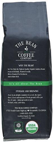 The Bean Coffee Company El Grano Ricco Coffee (Costa Rican Classic), Organic Whole Bean, 16-Ounce Bags (Pack of 2)