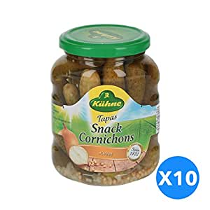 Kuhne Tapas Cornichons Sweet Pack Of 10 - 3.3 Kg