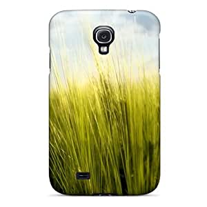 Hot FzxQnbR134rJNQa Case Cover Protector For Galaxy S4- Spring Grass