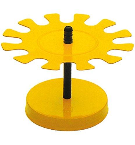 Porta timbri circolari 10 posti, multicolore Memotak